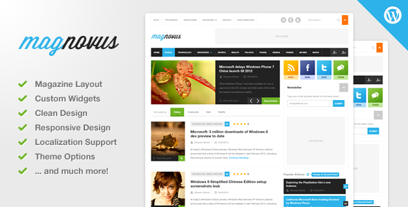 01 preview   large preview11 40 Premium News and Editorial Wordpress Themes