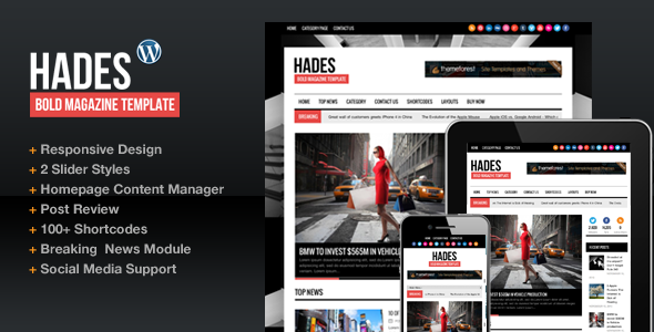01 cover   large preview3 40 Premium News and Editorial Wordpress Themes