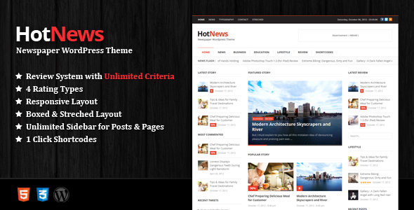 01 large preview   large preview11 40 Premium News and Editorial Wordpress Themes