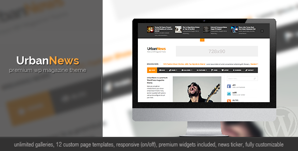 01 preview   large preview14 40 Premium News and Editorial Wordpress Themes