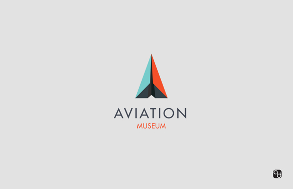 wnAviation Museum — Logo Design by Amy Brown