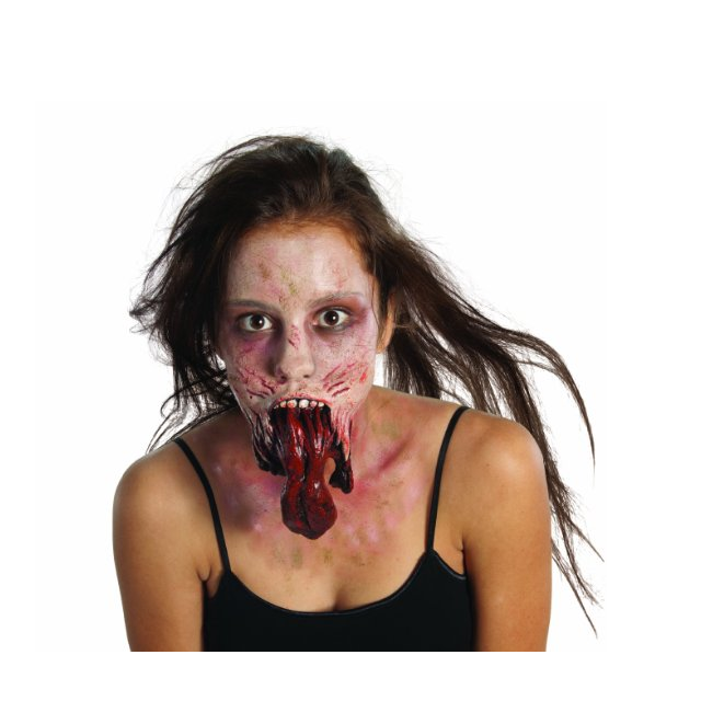 The Walking Dead Split Jaw Latex Mask