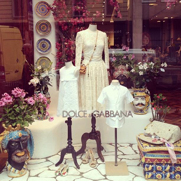 Dolce and Gabbana, Milan