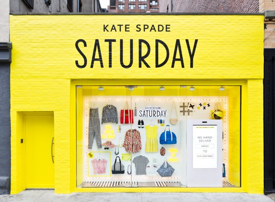 Kate Spade Saturday and eBay, NYC