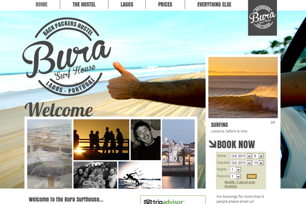 bura 25 Beautiful Websites Designed With Wix