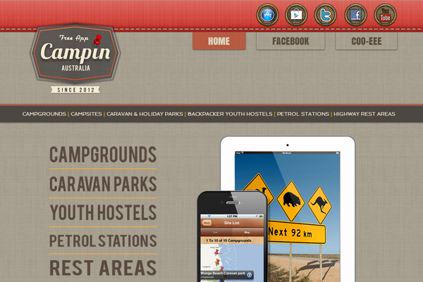 campinaustralia 25 Beautiful Websites Designed With Wix