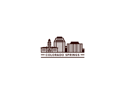 colorado springs illy 1x1 30 Charming Flat Logo Designs