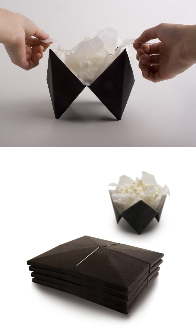 Pop-up Popcorn Packaging