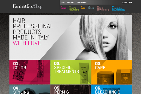 farma vita 25 Beautiful Websites Designed With Wix