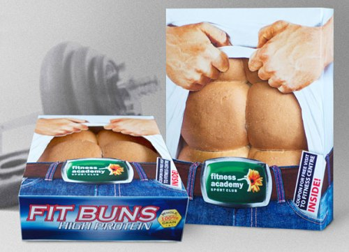 fit buns1 20 Imaginative Food Packaging Designs