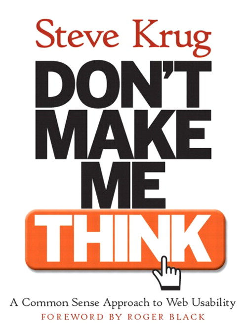 krug dontmakemethink1 10 Must Have User Interface Books for Designers