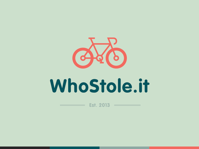 WhoStole.it Logo by Roy Barber