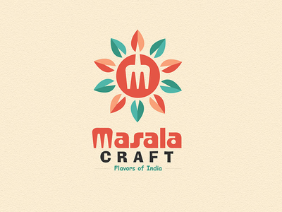 masalacraft 1x1 30 Charming Flat Logo Designs