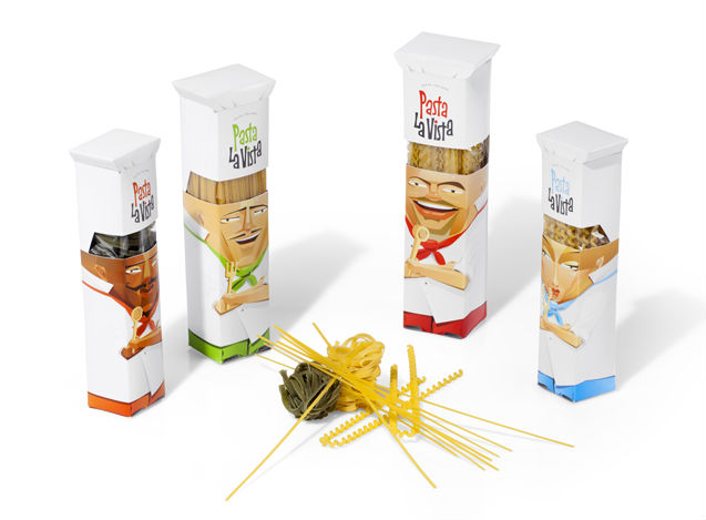 Pasta La Vista Packaging by Andrew Gorkovenko