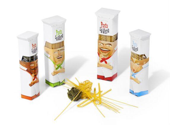 Pasta La Vista Packaging by Andrew Gorkovenko