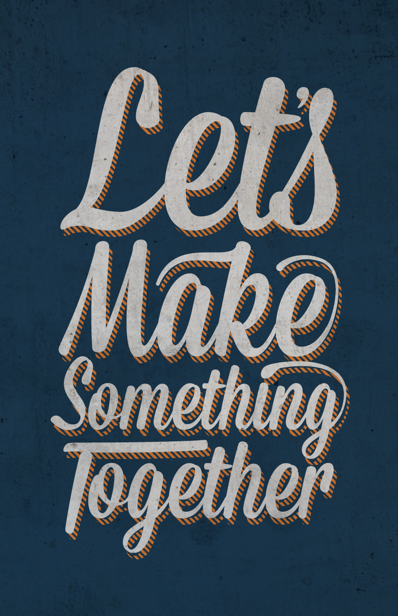 Lets Make Something by Patrick Symons