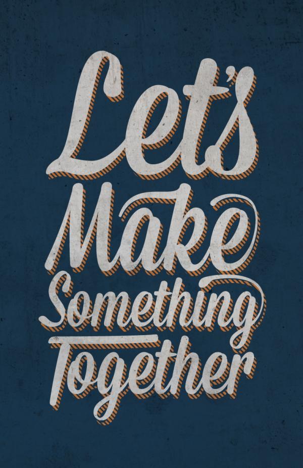 Lets Make Something by Patrick Symons