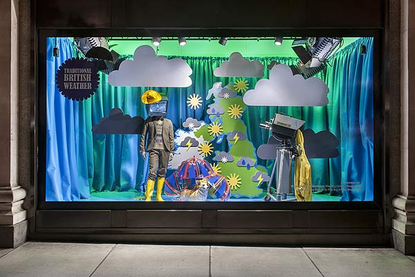 windows selfridges 600 246561 15 of the Best Window Displays of 2013