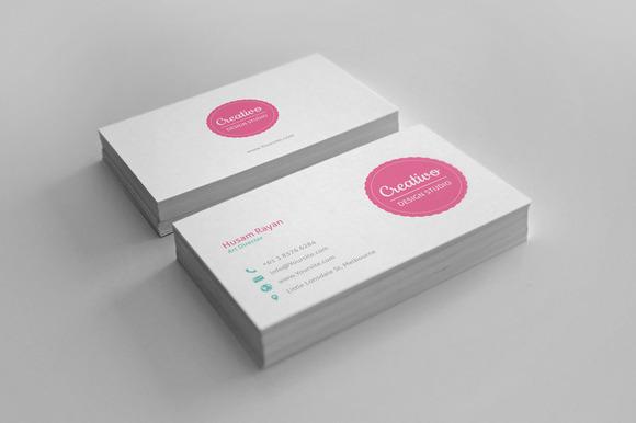 Creativo Business cards