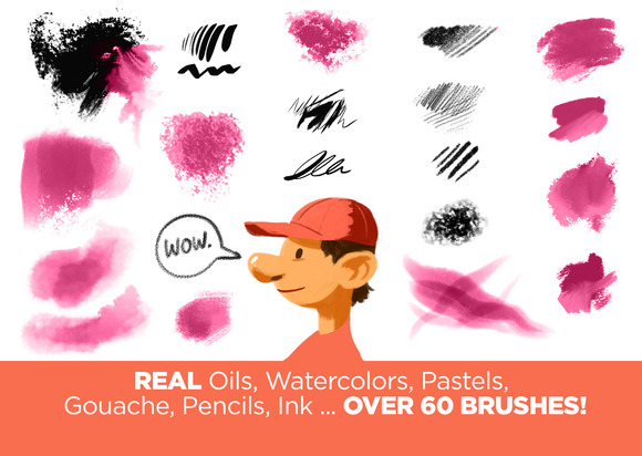 1,100+ Free Adobe Illustrator Brushes | Inspirationfeed