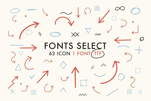 Font Select ICON
