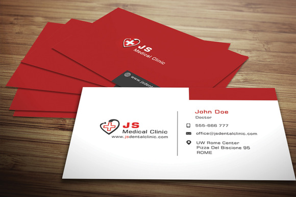 theGRID – Medical Business Card Templates