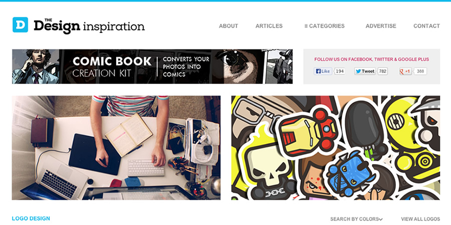 thedesigninspiration1 30 Outstanding Websites to Fuel Your Creativity