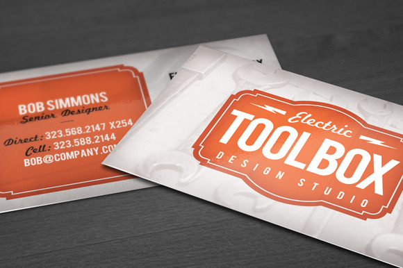 Toolbox Business Card Template