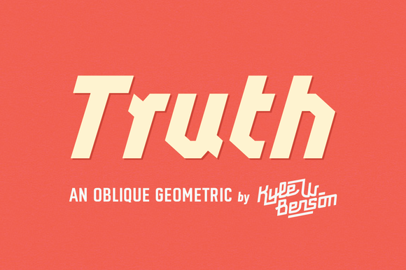Truth Font