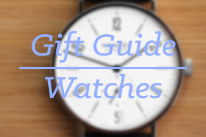 watches1 2013 Holiday Gift Guide: Creative Products for the Ones You Love