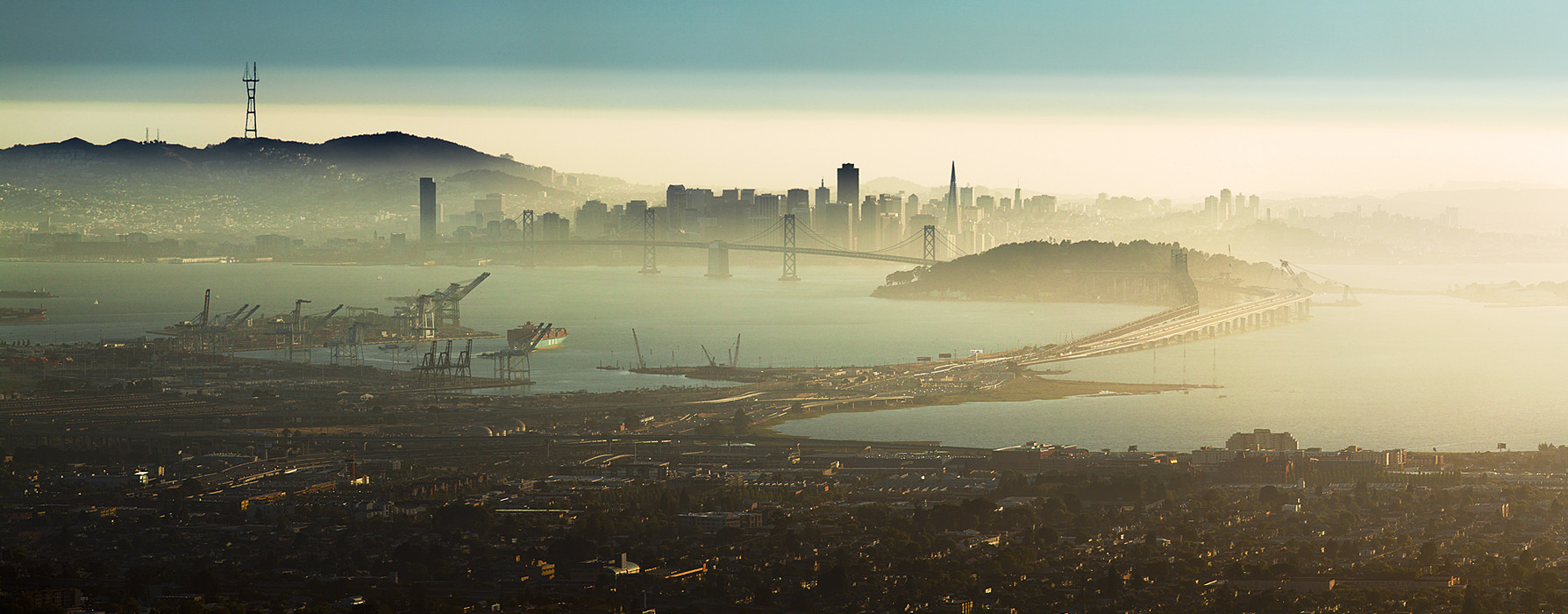 San Francisco, seen from Oakland