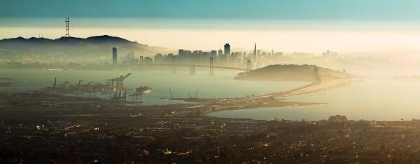 San Francisco, seen from Oakland