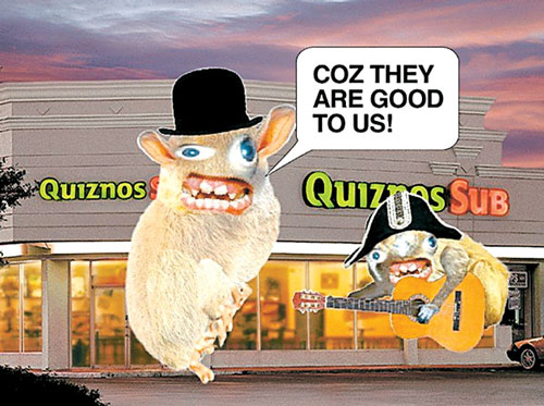 20090302 quizno1 Top 7 Most Disturbing Brand Mascots of All Time
