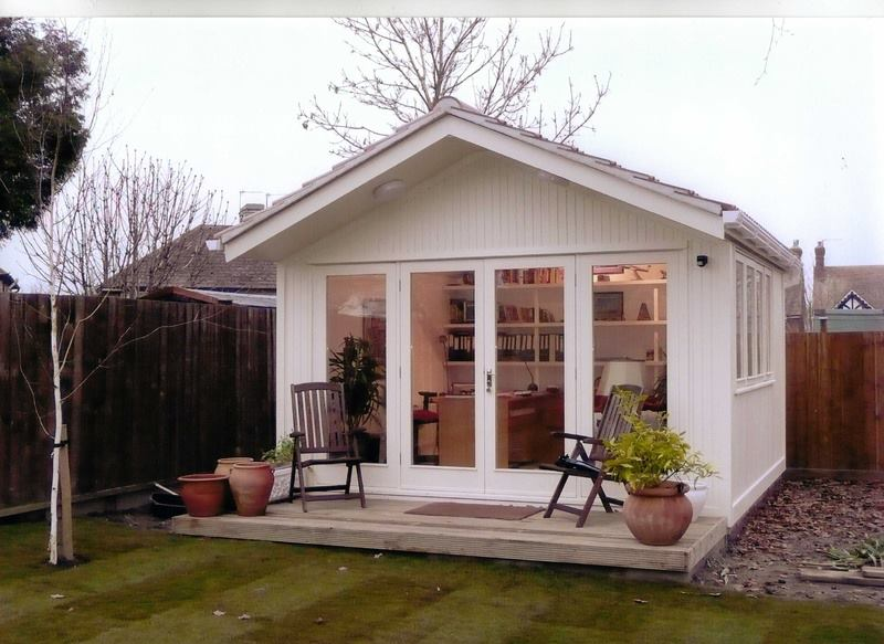 Large Wooden Garden Rooms: Garden Offices – Working From Your Shed