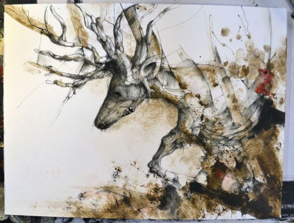Alluring Paintings by Eric Lacombe (3)
