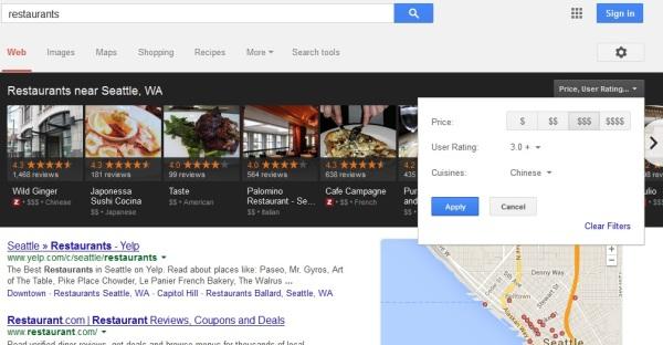 Carousel restaurants results