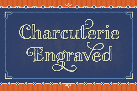 Charcuterie Engraved