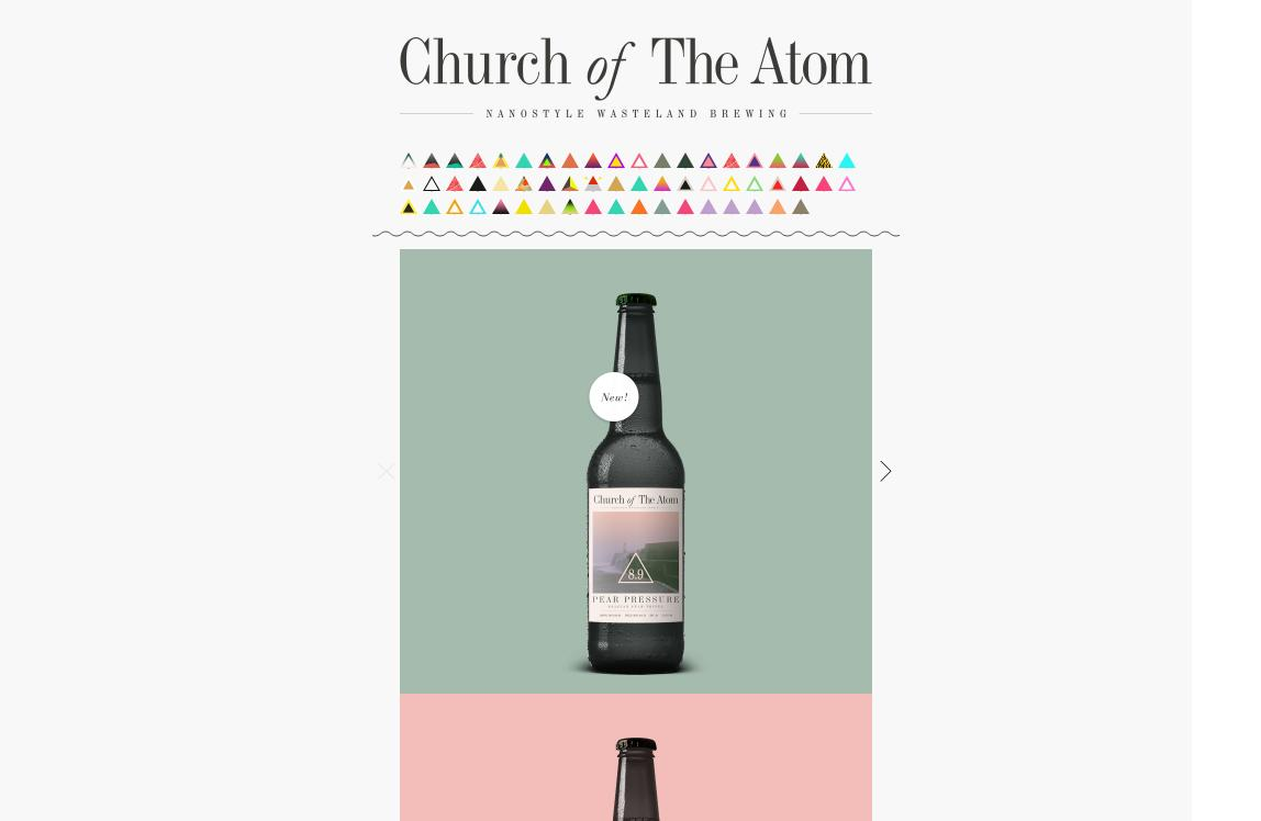church of the atom Best Website Designs of 2013