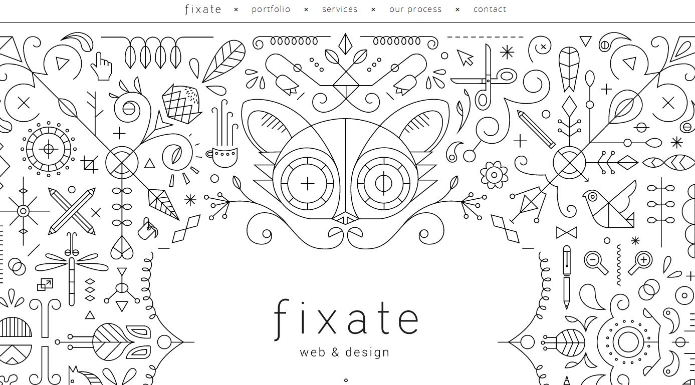 fixate Best Website Designs of 2013