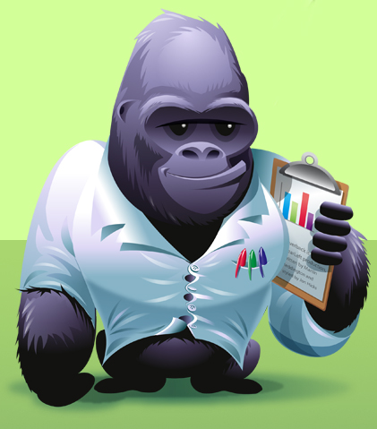 gorilla1 20+ Inspirational and Creative Mascot Designs