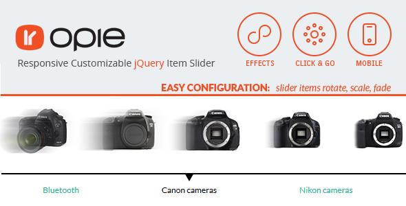 jquery css3 item slider 12 Premium Responsive jQuery Sliders