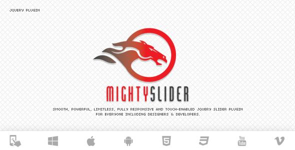 mightyslider 12 Premium Responsive jQuery Sliders