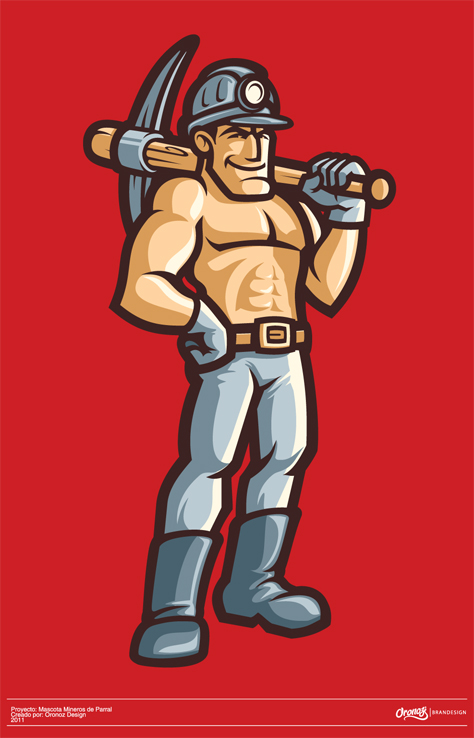 miner mascot full1 20+ Inspirational and Creative Mascot Designs