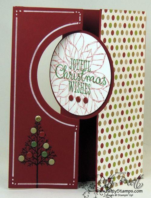 polkadot holiday card 20 Creative Holiday Cards