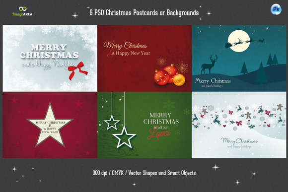 preview christmas card f1 20 Creative Holiday Cards