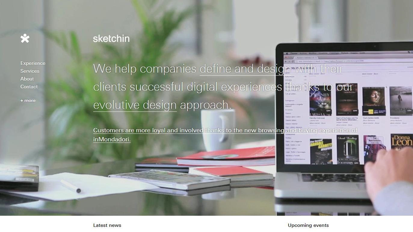 sketchin Best Website Designs of 2013