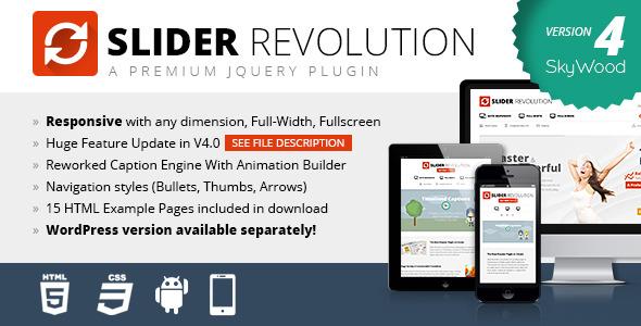 slider revolution 12 Premium Responsive jQuery Sliders