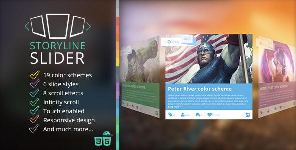 storyline 3d slider 12 Premium Responsive jQuery Sliders