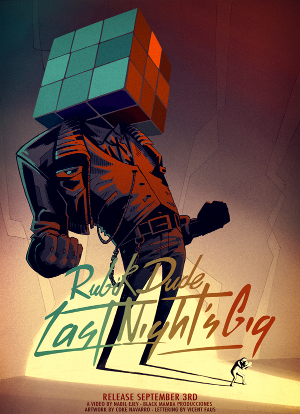 Rubik Dude - Last Night Gig