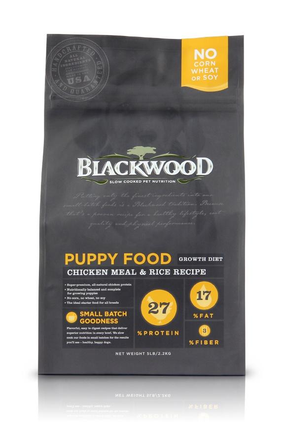 Blackwood Dog Food Packaging